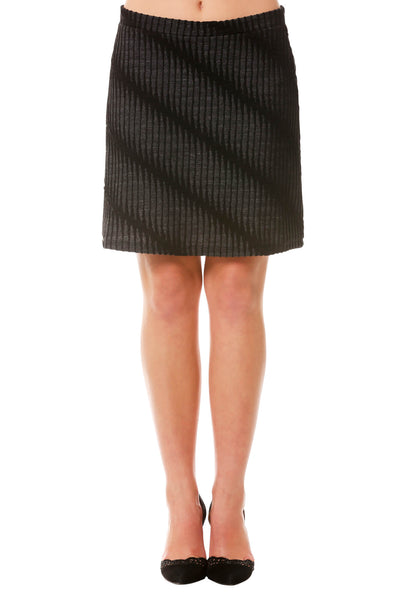 Women's Jacquard Textured Skirt | Mini Skirts for Winter | Neesha