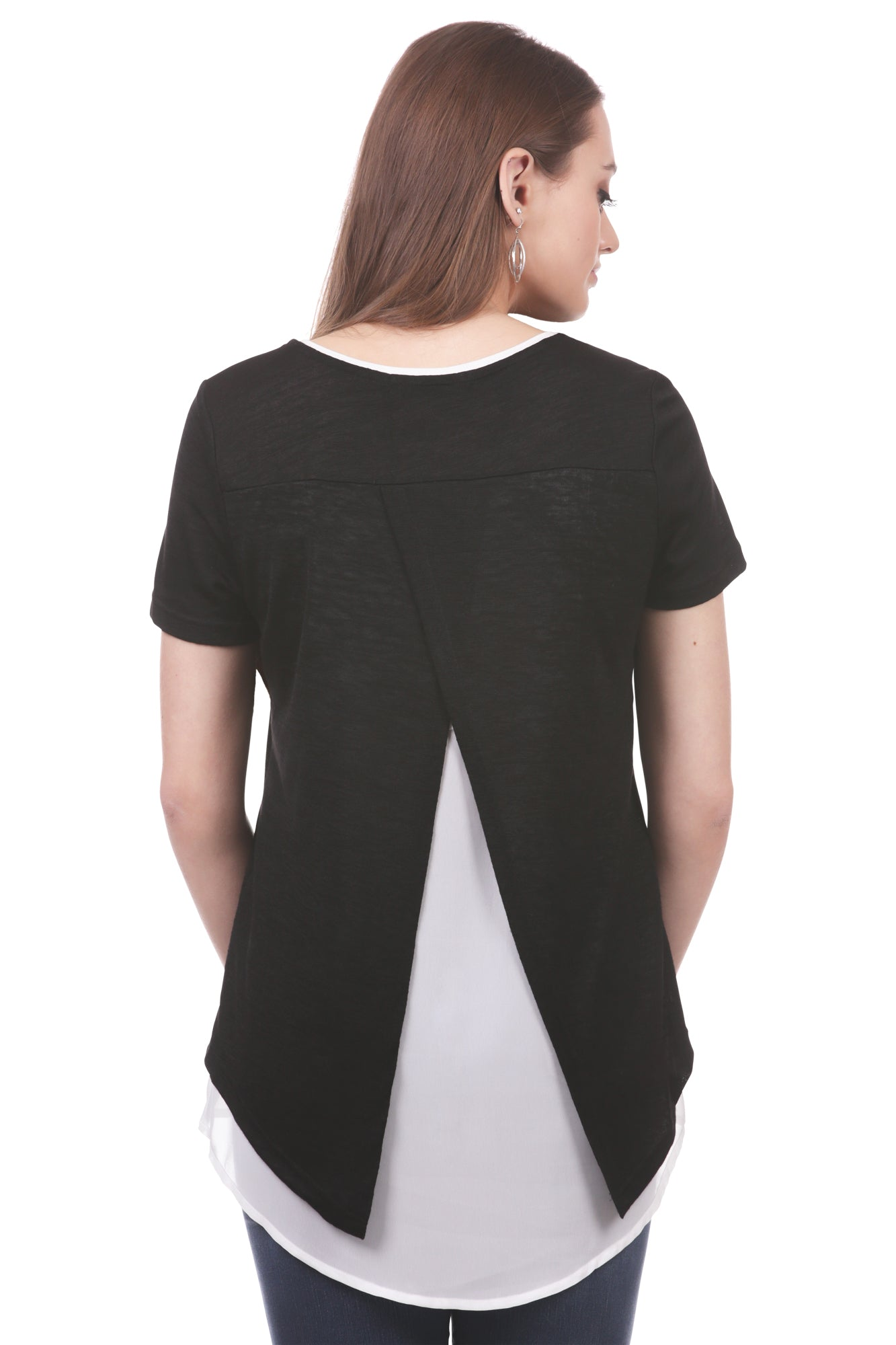 Open Back Layered Top