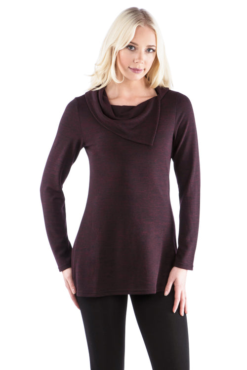 Split Cowl Tunic