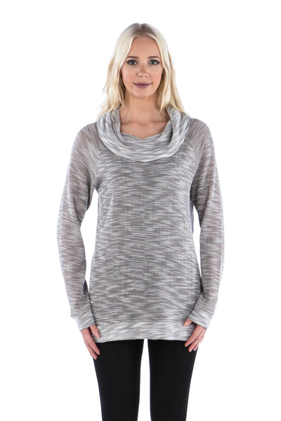 Terry Cowl Neck Tunic