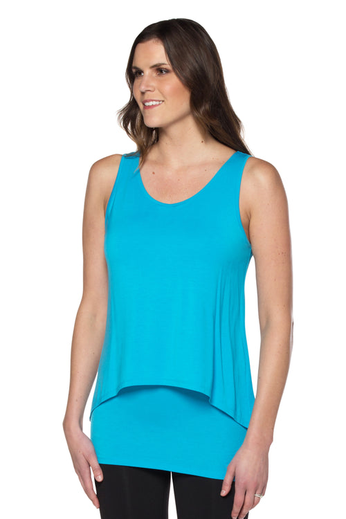 Basic Double Layer Tunic Tank
