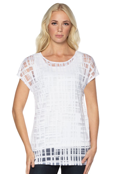 White Tunic Top