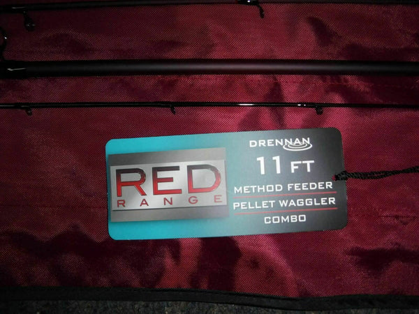 Drennan Red Range 11ft Carp Method/Pellet Waggler Combo