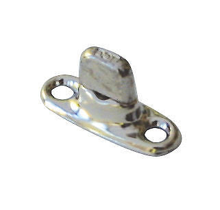 Marine Grade Turnbutton Single Height Stud 2 Screw Base x 10 - Jeckells Chandlery Oulton Broad