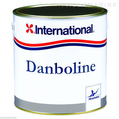 International Danboline Grey, Bilge & Locker 2.5L Boat Yacht Paint - Jeckells Chandlery Oulton Broad