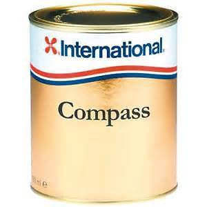International Compass Gloss Varnish 375ML - Jeckells Chandlery Oulton Broad