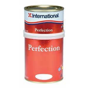 International Perfection 2 Pack Polyurethane Gloss, Mediterranean White. 750ml - Jeckells Chandlery Oulton Broad