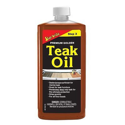 Star brite Tropical Oil Premium Golden 500ml - Jeckells Chandlery Oulton Broad