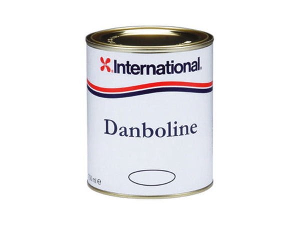 International Danboline White, Bilge & Locker 750ML Boat Yacht Paint - Jeckells Chandlery Oulton Broad