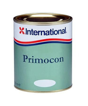 International Primocon Grey Antifoul Primer 750ml - Jeckells Chandlery Oulton Broad