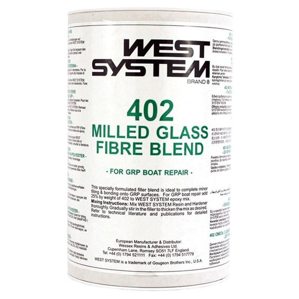 West System 402 Milled Glass Fibre Blend 150g - Jeckells Chandlery Oulton Broad