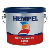 Hempel Classic Antifoul 2.5 Litre Marine Yacht Paint 4 Colours - Jeckells Chandlery Oulton Broad