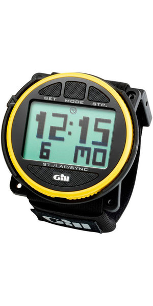 2017 Gill Reggata Race Watch Timer Black/Yellow W014 - Jeckells Chandlery Oulton Broad