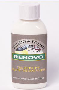 Renovo Plastic Window Polish 100ml - Jeckells Chandlery Oulton Broad