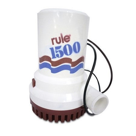 Rule 02 1500 Submersible Bilge Pump 12V - Jeckells Chandlery Oulton Broad