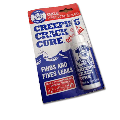 Captain Tolleys Creeping Crack Cure Sealant 60ml - CARAVAN / MOTORHOME / BOAT - Jeckells Chandlery Oulton Broad