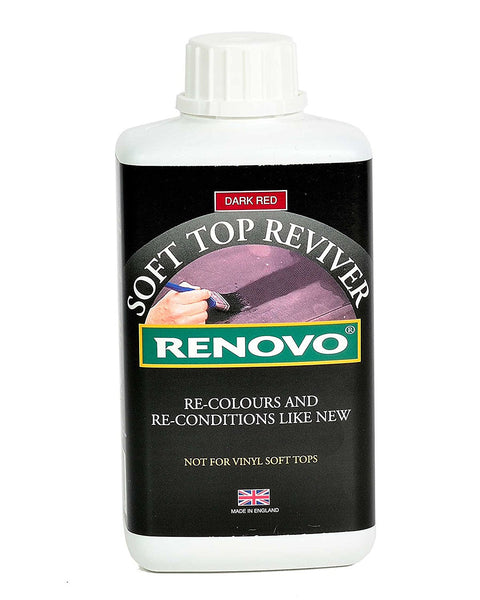 "Renovo,Canvas,Soft Top,Hood Reviver,""Dark Red / Burgundy"" 500ml. - Jeckells Chandlery Oulton Broad"