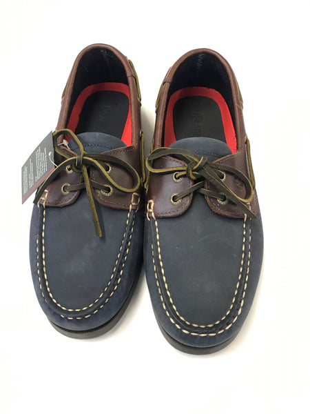 Men's Apache Moose Deck Shoes Navy/Oak