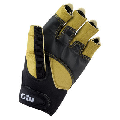 Gill Pro Gloves - Short Finger - Jeckells Chandlery Oulton Broad