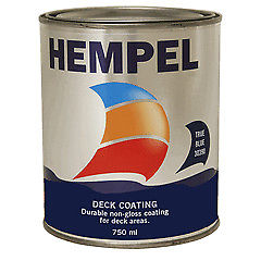 Hempel Non Slip Deck Coating 750ml Navy Blue 30100 - Jeckells Chandlery Oulton Broad