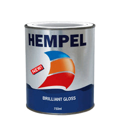Hempel Brilliant Gloss 750ml White 10231 - Jeckells Chandlery Oulton Broad