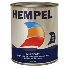 Hempel Multicoat 750ml Pillarbox Red 50800 - Jeckells Chandlery Oulton Broad