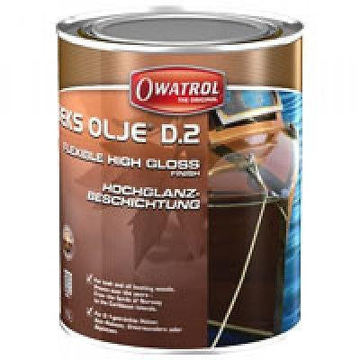 Owatrol Deks Olje D2 High Gloss Oil Varnish 1 Litre - Jeckells Chandlery Oulton Broad