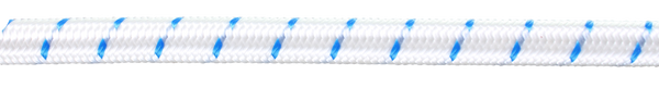 Shock Cord-6mm White / Blue - Jeckells Chandlery Oulton Broad