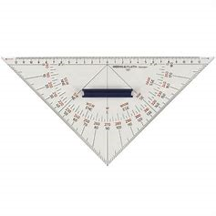 Protractor Triangle with Handle - Jeckells Chandlery Oulton Broad
