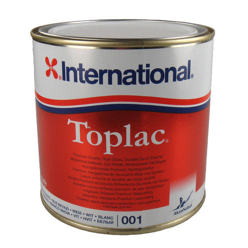 INTERNATIONAL TOPLAC GLOSS FINISH 750ML BOAT YACHT PAINT - Jeckells Chandlery Oulton Broad