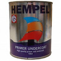 Hempel Primer Undercoat - White (10000) - 750ml - Jeckells Chandlery Oulton Broad