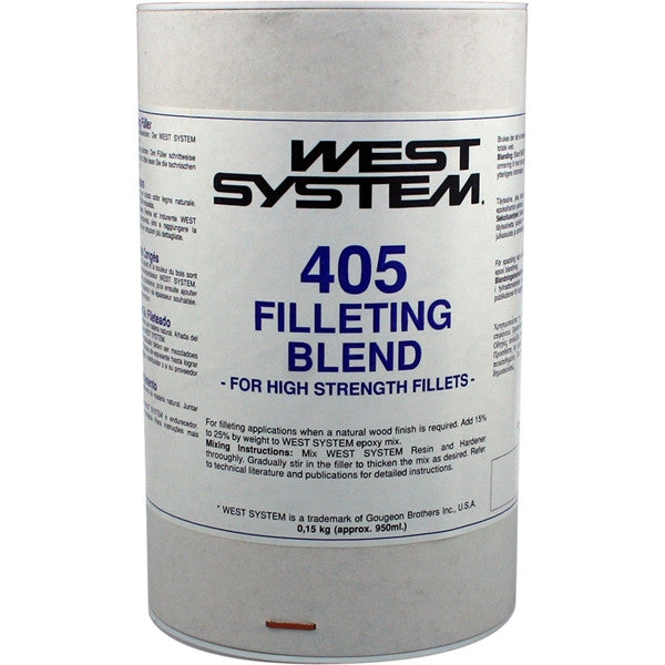 West System 405 Filleting blend 150g - Jeckells Chandlery Oulton Broad