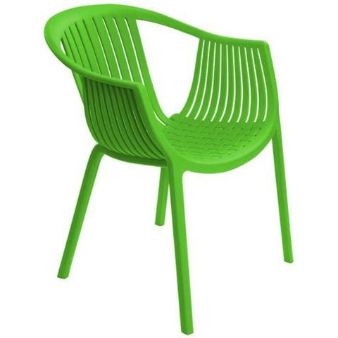 SILLA PLÁSTICA WHOLE PP/VERDE