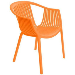 SILLA PLÁSTICA WHOLE PP/NARANJA