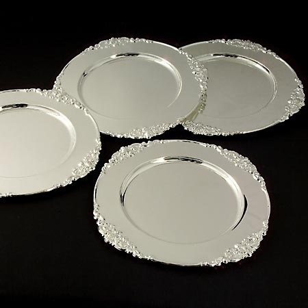 SET DE 4 BANDEJAS BAROQUE