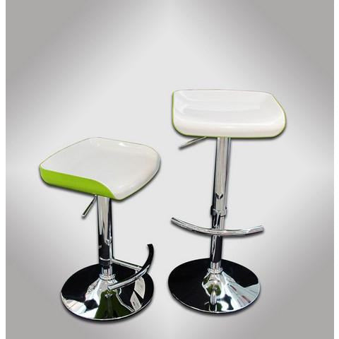 SILLA P/BAR (BLANCO  & VERDE)