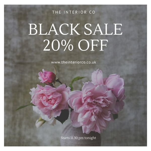 BLACK SALE 20% OFF EVERYTHING