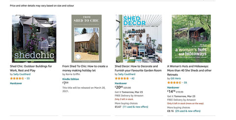 https://www.amazon.co.uk/dp/B08ZNQ7BN4/ref=sr_1_1?dchild=1&keywords=From+shed+to+chic&qid=1616496548&s=books&sr=1-1
