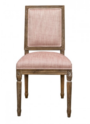 Le Manoir Dining Chair- Raspberry - India Jane