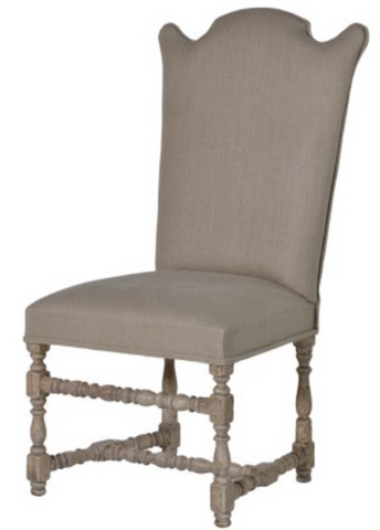 Imperial Linen Dining Chair - Linen covered