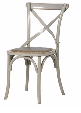 Hampshire X-Back Bistro Dining Chair India Jane The Interior Co