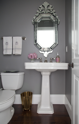 Kerrie Griffin-Rogers uses Dovetail by F&B in a bathroom design Interior Designer The Interior Co