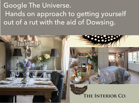 Dowsing with Award Winning Interior Designer and Chris Quartermaine