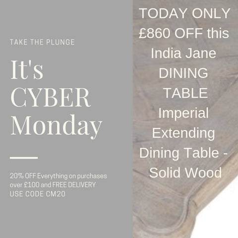 India Jane Dining Tables 20% OFF