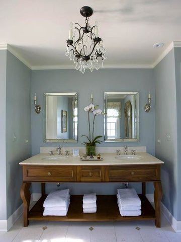 Kerrie Griffin-Rogers designs a country bathroom in Shropshire by The Interior Co