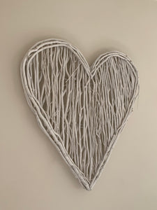 White Willow Heart - Large - The Interior Co