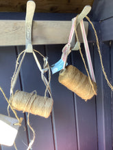 Load image into Gallery viewer, Garden String On East Of India Ribbon Hanging Holder By The Interior Co