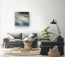 Load image into Gallery viewer, New Wave Original Canvas By kerrie griffin 90cm sq available at The Interior Co