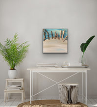 Load image into Gallery viewer, Drift Original Canvas With Driftwood by Kerrie Griffin