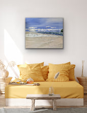 "Load image into Gallery viewer, Painting Original Art called "" Coast"" By Kerrie Griffin"